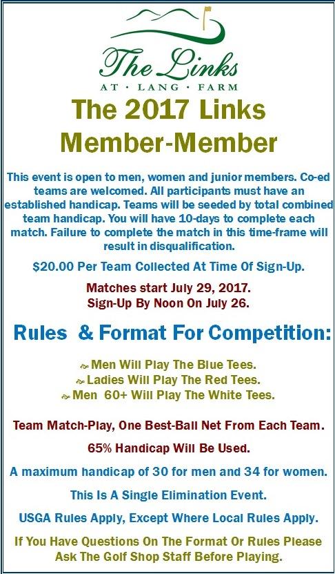 Member-Member Sign-Up Deadline
